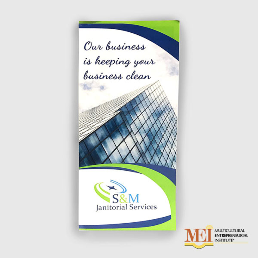 S&M Janitorial: Brochures